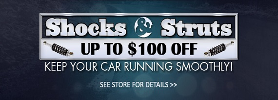 Shocks and Struts Savings